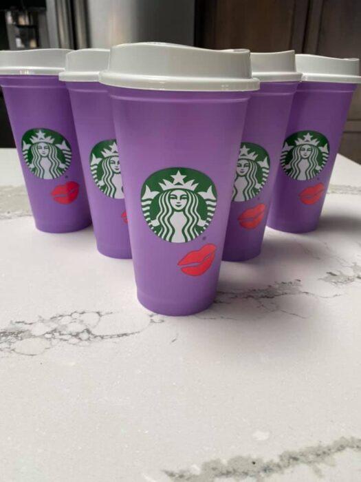 Valentine\u2019s Day starbucks hot cup ~ Starbucks hot cup ~ Starbucks color changing cup ~ Gifts for her ~ Valentine\u2019s Day Cup ~ Mother\u2019s Day