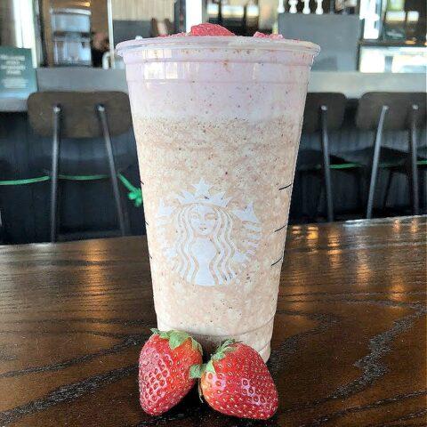 Strawberry Shortcake Latte