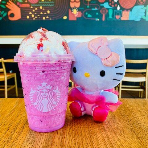 Hello Kitty Frappuccino