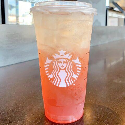 Ombre Orange Drink