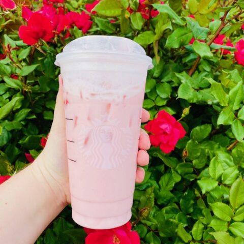 Strawberries And Cream Refresher