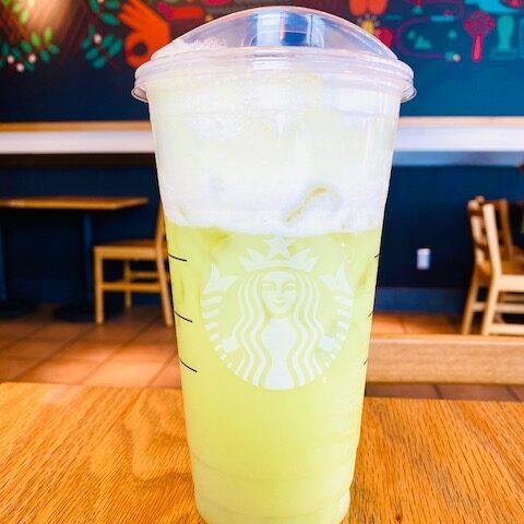 Key Lime Pie Refresher