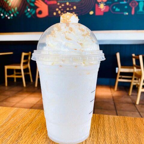 Lemon Meringue Pie Frappuccino